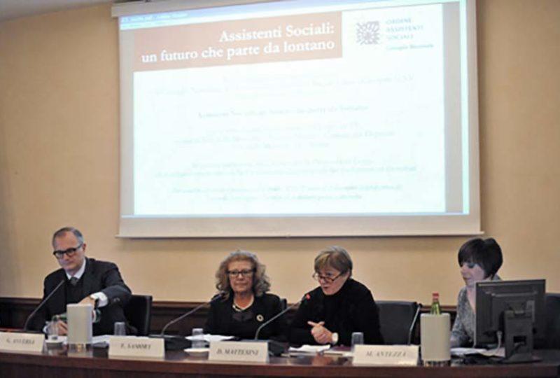 Un momento dell'intervento di Donella Mattesini